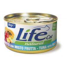 LifeCat 85 gr Tuna with fruit mix - ЛайфКэт 85 ...