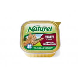 Natutel alutray 100gr Rabbit & Chicken Натурель алютр...