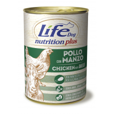 LifeDog Nutrition Plus 400 gr Chicken with beef...