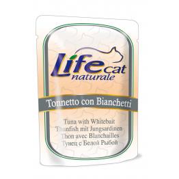 LifeCat 70 gr Tuna with small anchovies - ЛайфКэт 70 гр Т...