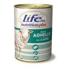 LifeDog Nutrition Plus 400 gr Lamb with rice - ЛайфДог 40...