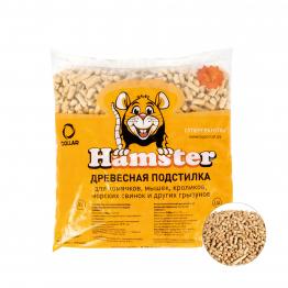 Наповнювач SuperCat Hamster для гризунів, деревний, 0,8 кг