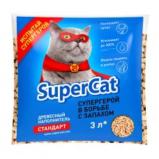 Наповнювач SuperCat СТАНДАРТ, деревний, 1 кг
