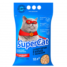 Наповнювач SuperCat СТАНДАРТ, деревний, 3 кг