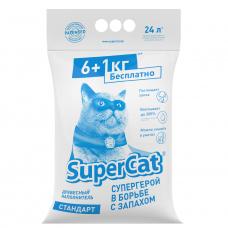 Наповнювач SuperCat СТАНДАРТ, деревний, 6+1 кг