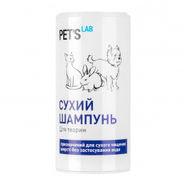 Сухий шампунь PET'S LAB для тварин, 150 мл