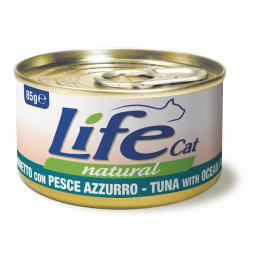 LifeCat 85 gr Tuna with ocean fish - ЛайфКэт 85 гр Тунець...