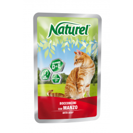 Naturel Pouch 100gr Beef (chunks in sause) - Натурель 100...