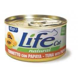 LifeCat 85 gr Tuna with papaya - ЛайфКэт 85 гр Тунець з к...