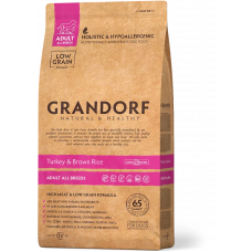 GD DOG Turkey/Brown Rice Adult Breeds/ Грандорф...