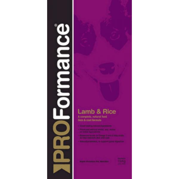 PROFormance Lamb&Rice 1/15 KG - Проформанс Ламб енд Райс сухий корм для дорослих собак, з ягнятиною та рисом
