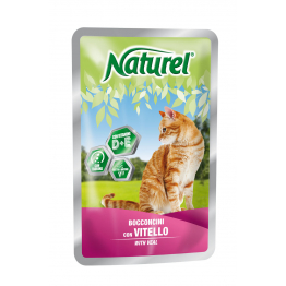 Naturel Pouch 100gr Veal (chunks in sause) - Натурель 100...