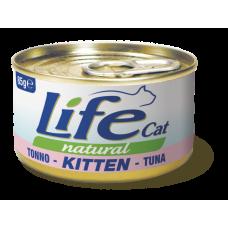 LifeCat 85 gr KITTEN Tuna - ЛайфКэт 85 гр Для К...