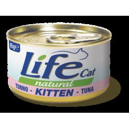 LifeCat 85 gr KITTEN Tuna - ЛайфКэт 85 гр Для Кошенят Тун...