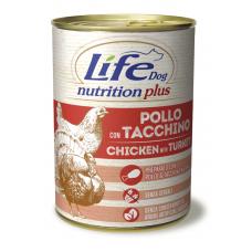LifeDog Nutrition Plus 400 gr Chicken with turk...