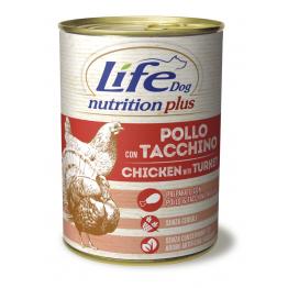 LifeDog Nutrition Plus 400 gr Chicken with turkey - ЛайфД...