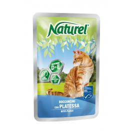 Naturel Pouch 100gr Plaice (chunks in sause) - Натурель 1...